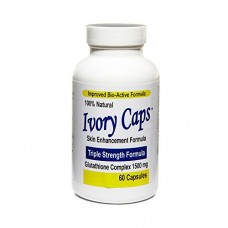 Ivory Caps - Skin Whitening Pills Complex, Maximum Potency 1500 mg , 60 Capsules