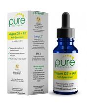 Vegan D3 + K2 Full Spectrum Drops for Best Absorption.