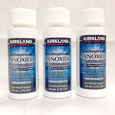 Kirkland Signature Minoxidil Hair Regrowth Solution For Men - 3 Month Supply.