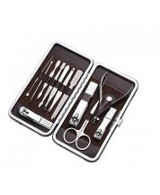Cater Manicure Professional Grooming Kit with Travel Case