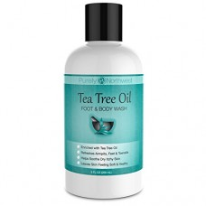 Antifungal Tea Tree Oil Body Wash for Healthy Feet, Skin and Nails