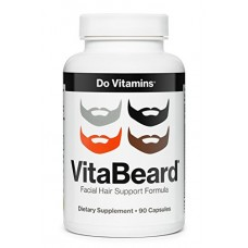 VitaBeard Beard Growth Supplements for Men (90 Capsules)