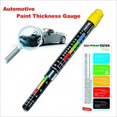 Coating Thickness Meter Gauge, Paint Tester, Car Body Damage Detector, with Magnetic Tip, and Measurement Scale, Crash-Test Check, Water Resistant, Highly Accurate