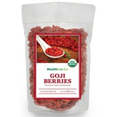 Healthworks Goji Berries Raw Organic 1 Pound