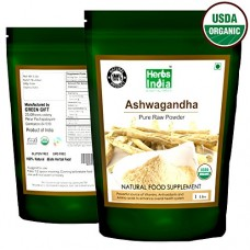 Organic Ashwagandha Root Powder 16 Ounces Resealable Bag
