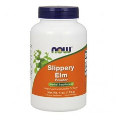 NOW Supplements Slippery Elm Powder 4 Ounce